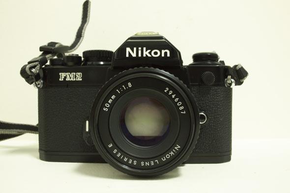 Nikon FM2 with 50mm Series E Lens