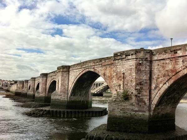 Bridge At Berwick Upon Tweed - Dramatic View