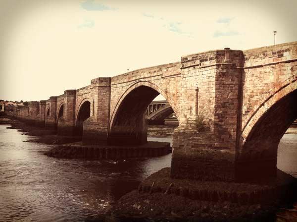 Bridge At Berwick Upon Tweed