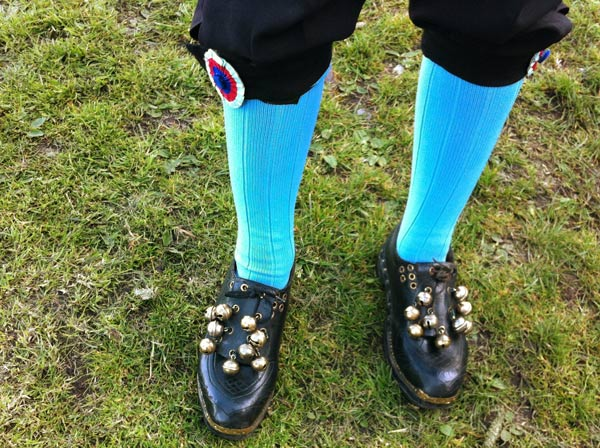 Morris man's clogs with bells