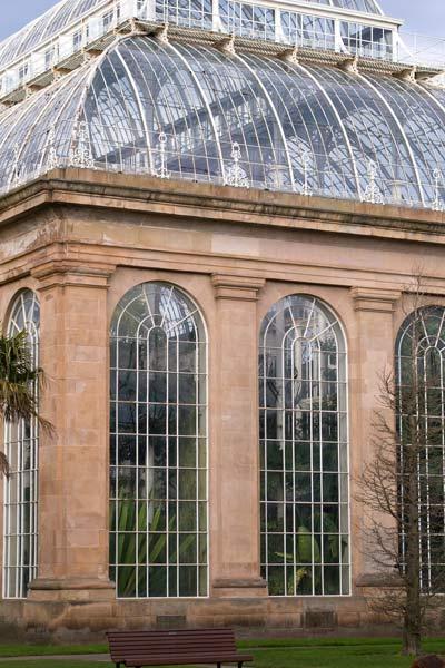 Hothouse in Edinburgh Botanic Garden
