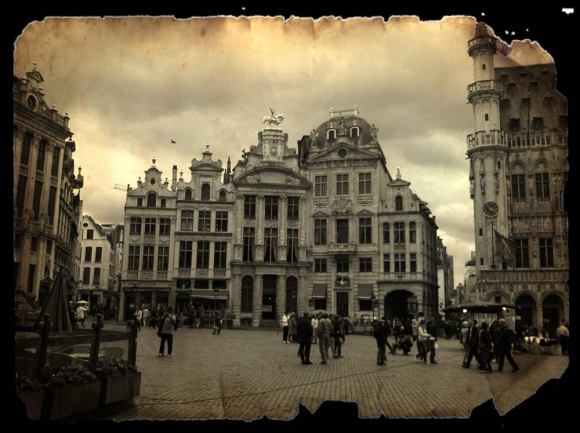 The Grande Place In Brussels