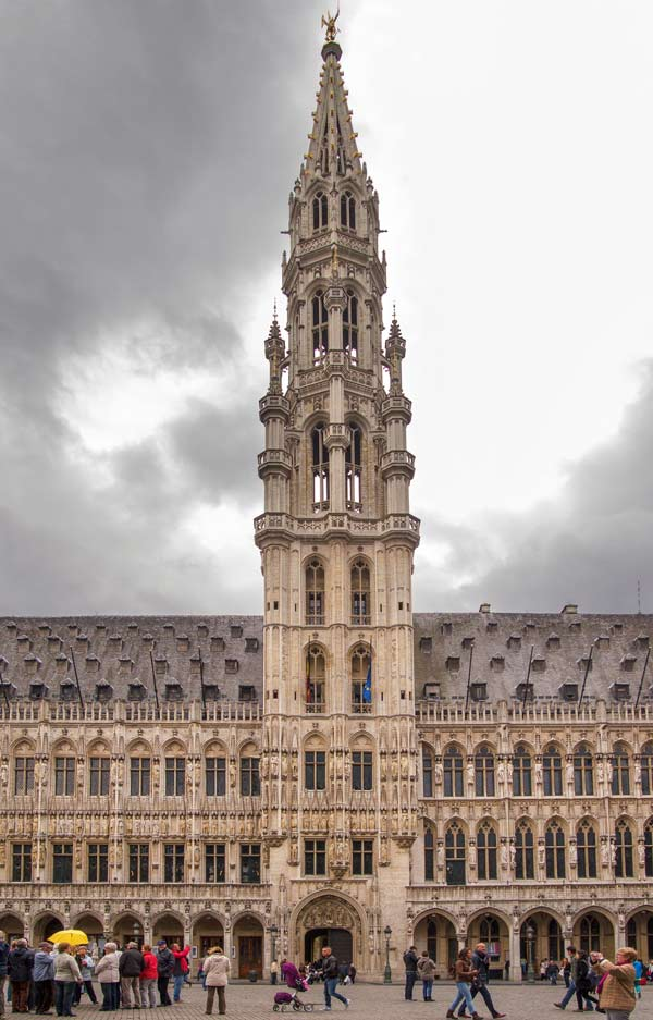 Town Hall - Grand Place - Brussels