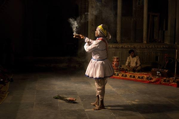 Dancer in Udaipur