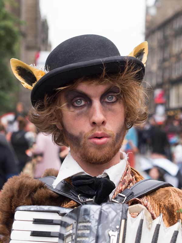 Actor From The Greatest Liar In The World - At Edinburgh Fringe Festival