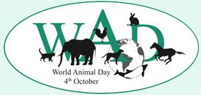 World Animal Day log