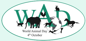 World Animal Day log