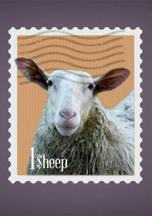 sheep-stamp