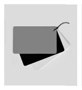 'White Balance' Cards