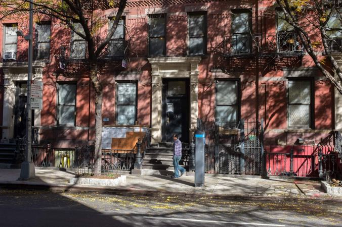 Manhattan street in November 2015