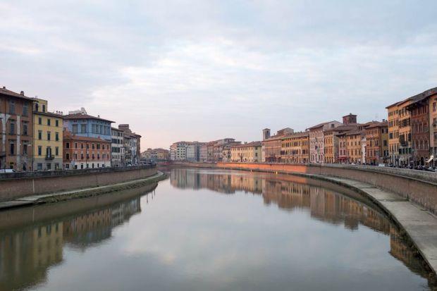 The River Arno at Pisa