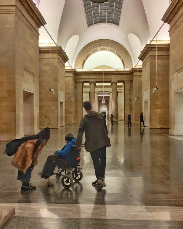 The Great Hall at Tate Britain In London