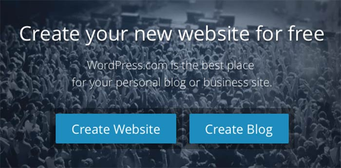 create a website or create a blog