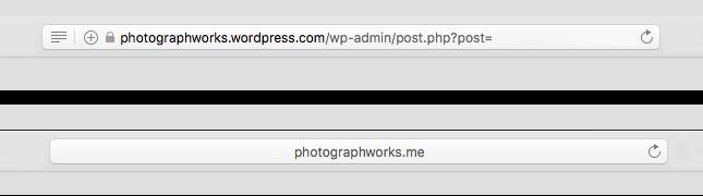 https padlock in back end of wp.com custom domain