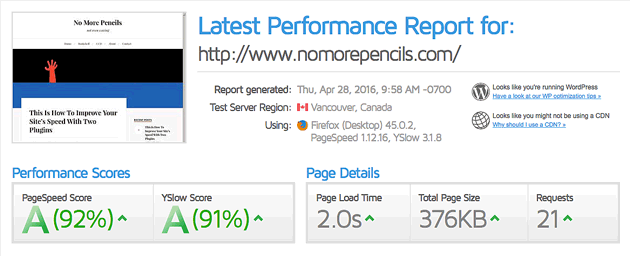 nomorepencils-after-installing-wp-super-cache