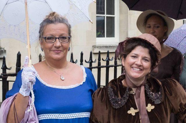 Jane Austen Promenade in Bath