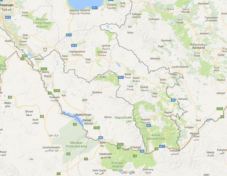 close up of Nakhchivan-Autonomous-Republic