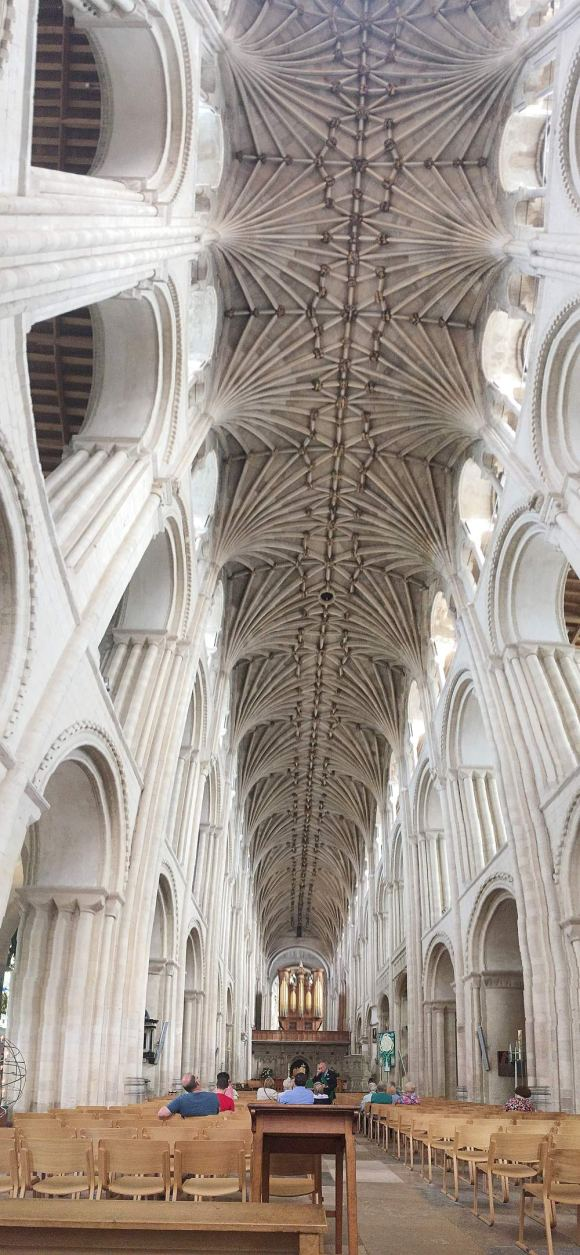 Roof of Norwich Cathedral