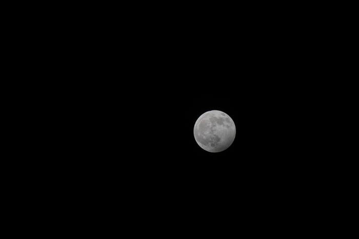 full moon against a dark sky