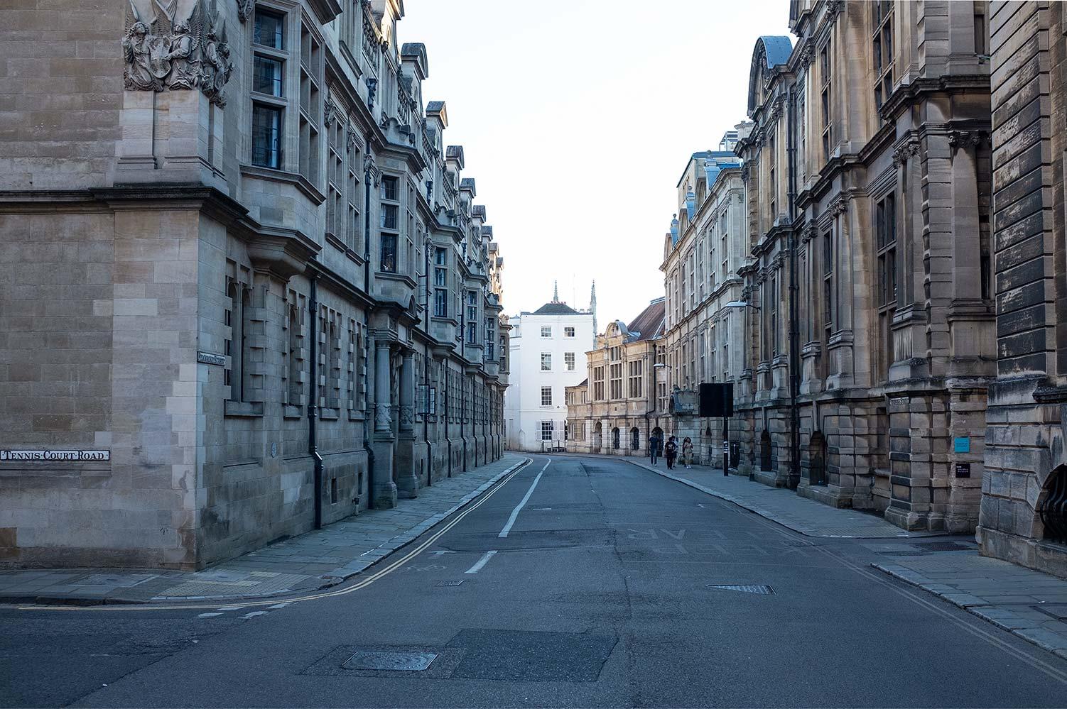 Downing Street Cambridge, UK