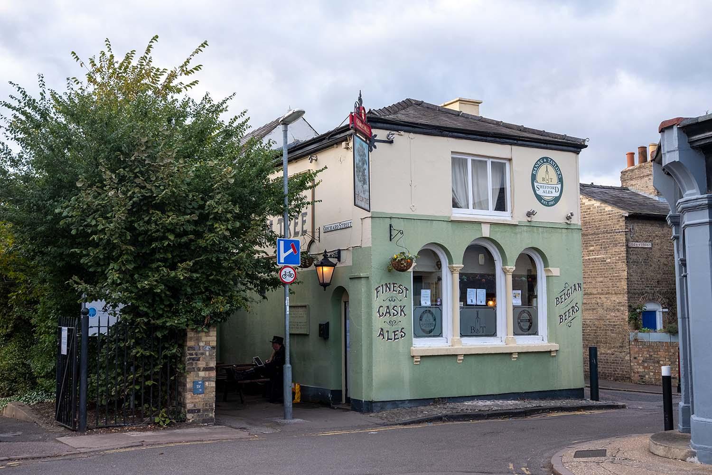 The Elm Tree Pub in Cambridge