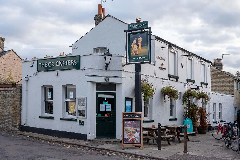 The Cricketers Pub in Cambridge
