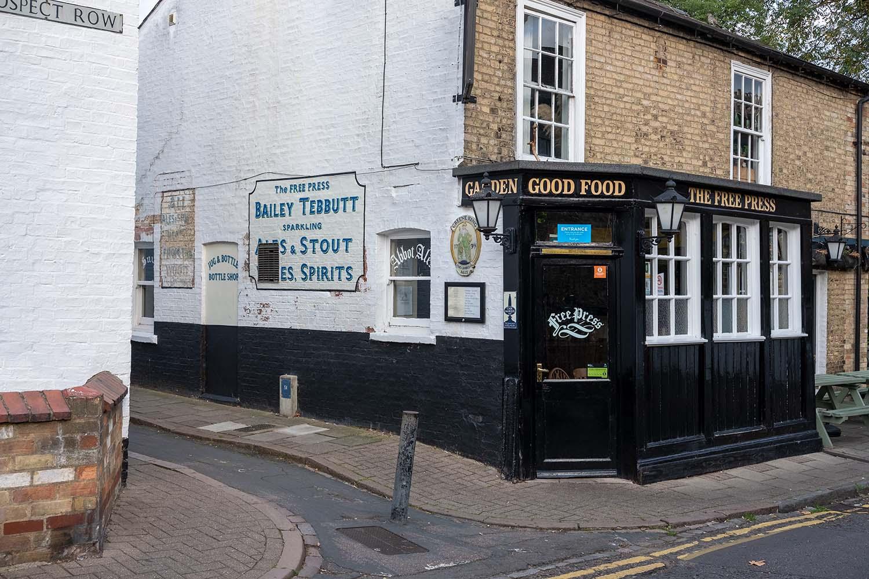 The Free Press Pub in Cambridge